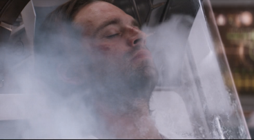 Bucky disappears into the icy mist of cryo, finally getting the peaceful rest he's needed for decades.