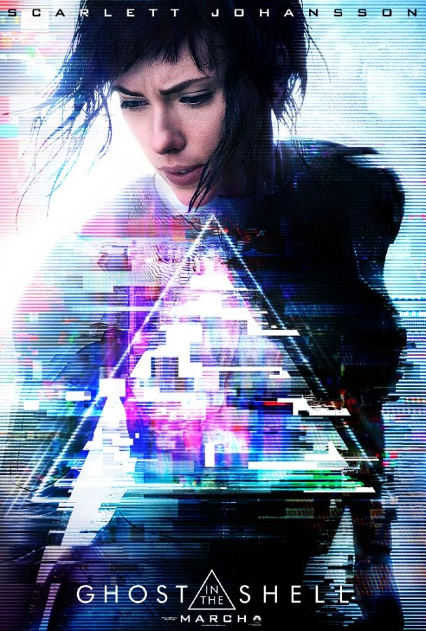 ScarJo in Ghost in the Shell