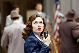 "MARVEL'S AGENT CARTER - ""Valediction"" - Peggy faces the full fury of Leviathan, as Howard Stark makes his return in the explosive season finale of ""Marvel's Agent Carter,"" TUESDAY, FEBRUARY 24 (9:00-10:00 p.m., ET) on the ABC Television Network. (ABC/Kelsey McNeal) HAYLEY ATWELL"