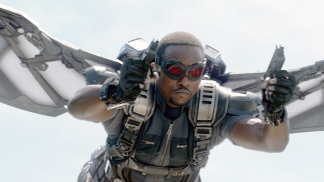 Anthony Mackie as the Falcon (Disney/Marvel)