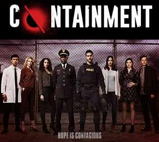 Containment poster from the CW, full cast limited series event
