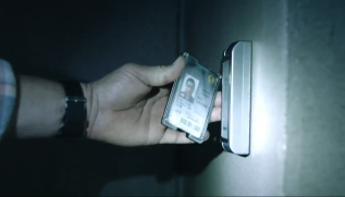 the passage 103 brad borrows grey's id to gain access to level 4b