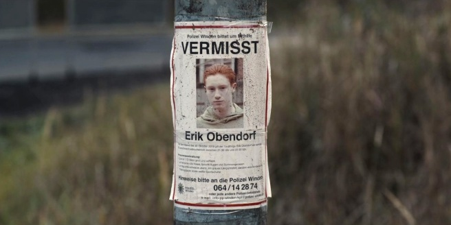 Dark 101 Erik Obendorf's Missing Poster