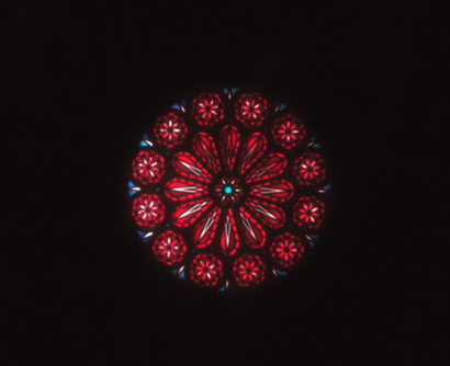 The OA P2Ep3 The Rose WIndow in Lily's TV