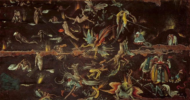 The Last Judgement by Hieronymus Bosch
