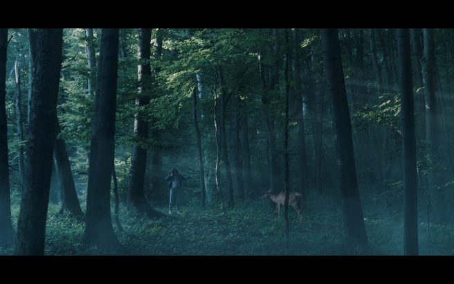 Hanna S1Ep6 Hanna & Doe in Forest