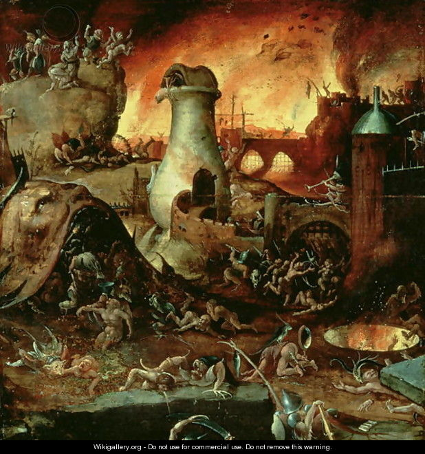 Hell 2 by Hieronymous Bosch