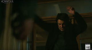 Roswell, NM S1Ep13 Michael Throws Max Through the Window