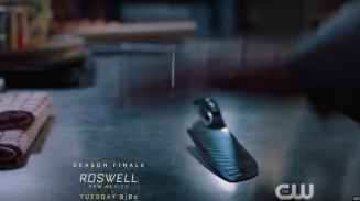 Roswell, NM S1Ep13 Noah's Knife
