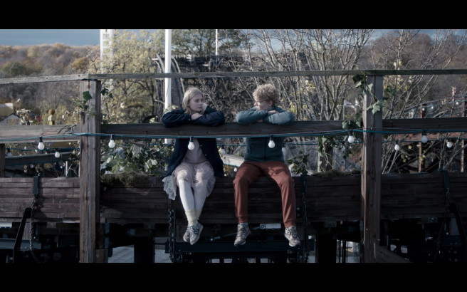 The Rain S2Ep4 Sarah & Rasmus Sit on Roller Coaster Original