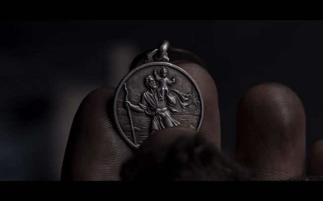 Dark S2Ep1 St Christopher Medal