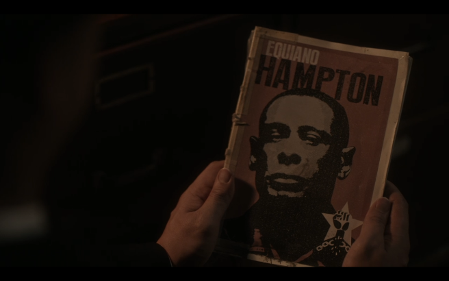 High Castle S4Ep1 Equiano Hampton Book