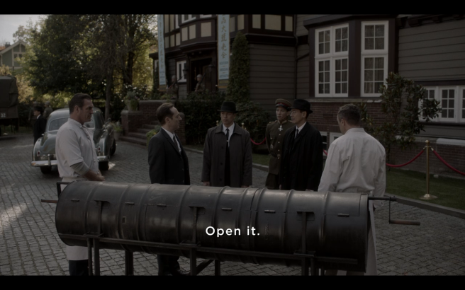 High Castle S4Ep2 Kido Inspects BBQ.png