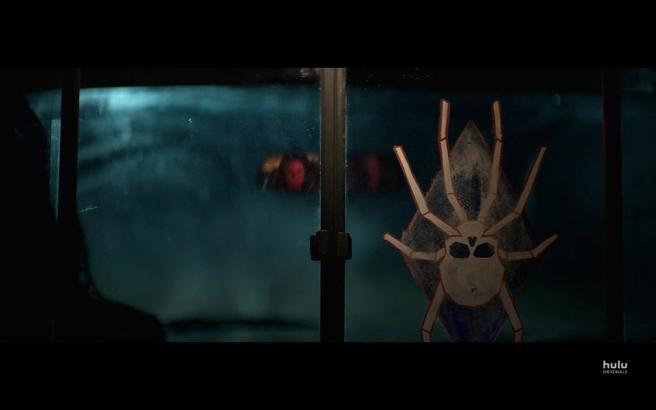 Reprisal S1Ep1 Brawler Spider & Kat in Mirror