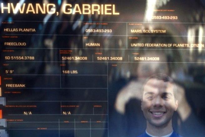 Star Trek Picard S1E5 Gabe's File