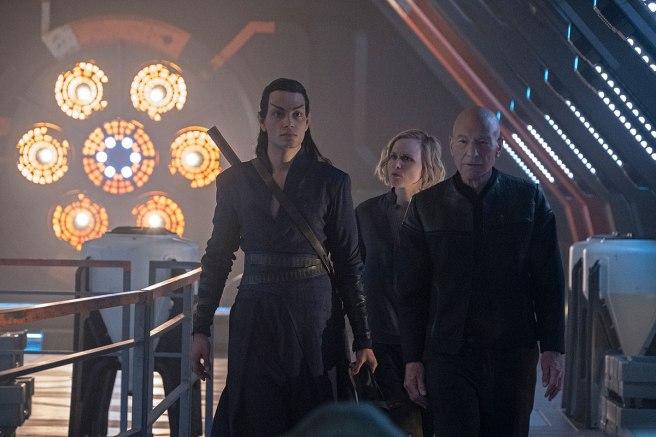 Star Trek: Picard S1E4 Elnor, Agnes, Jean Luc