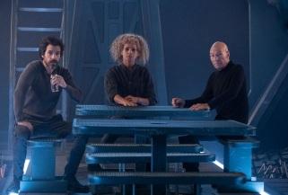 Star Trek Picard S1E8 Rios, Raffi & Picard