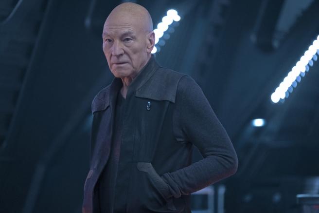 Star Trek: Picard S1E6 Patrick Stewart as Admiral Jean Luc Picard
