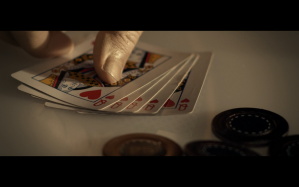 Star Trek Picard S1E1 Data Shows Picard His Hand- 5 Queens of Heart