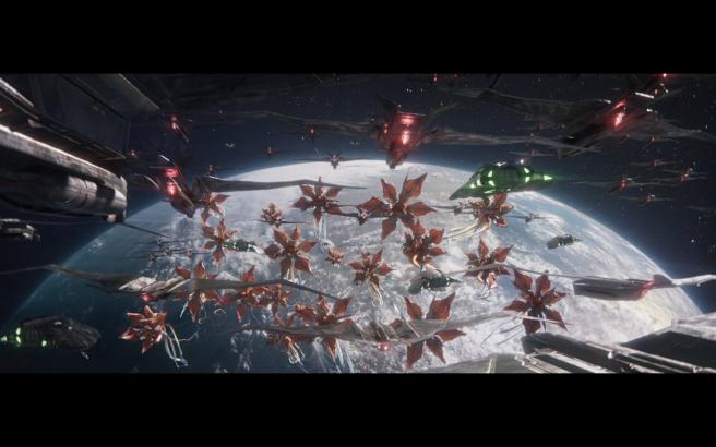 Star Trek Picard S1E10 Attack of the Giant Killer Space Flowers