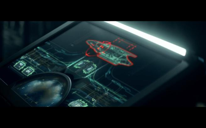 Star Trek Picard S1E10 La Sirena Targeted by Artifact