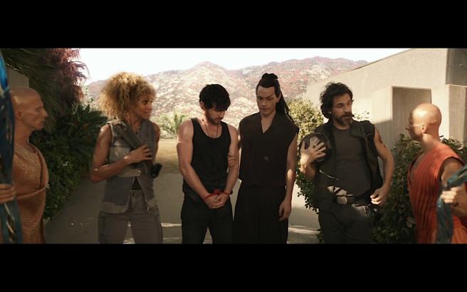 Star Trek Picard S1E10 Rebels Bring Narek & Grenade Into Synthville