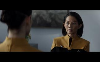 Star Trek Picard S1E2 Commodore Oh in Uniform