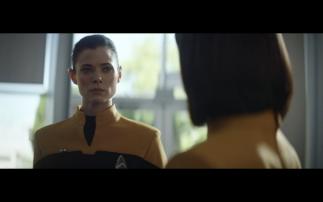 Star Trek Picard S1E2 Lt Narissa Rizzo in Starfleet Uniform