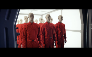 Star Trek Picard S1E2 Plastic People Set Off for Their Shifts Just Before Mars Attack