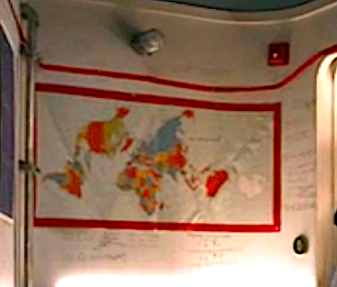 Snowpiercer S1Ep4 Melanie's World Map