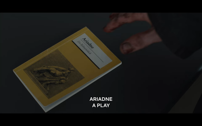 Dark S3Ep1 Ariadne- A Play