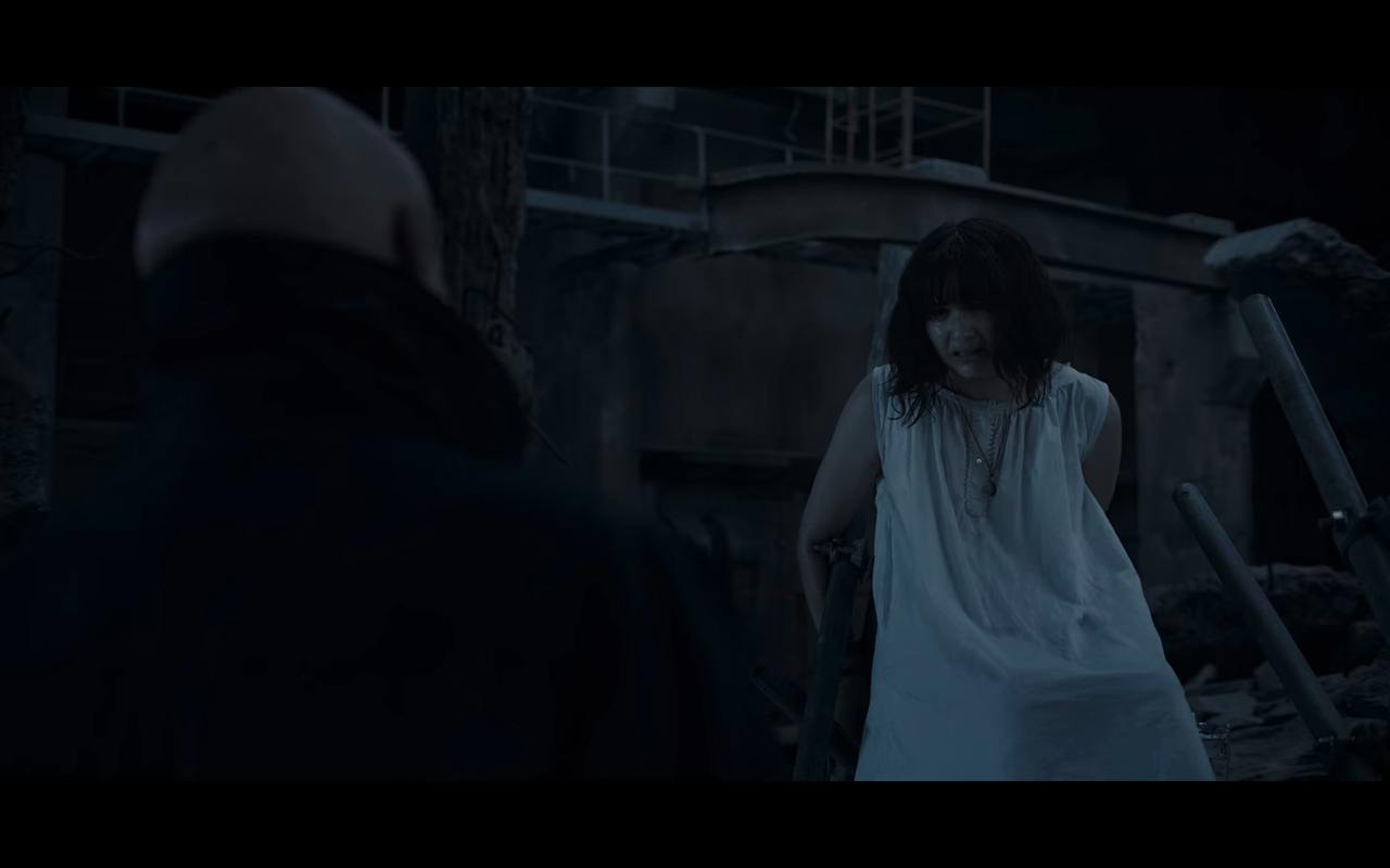Dark S3Ep6 Martha in Little White Slip of Doom