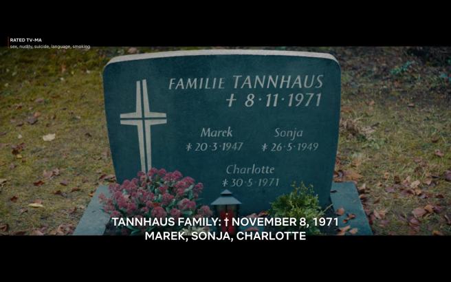 Dark S3Ep7 Tannhaus Gravestone