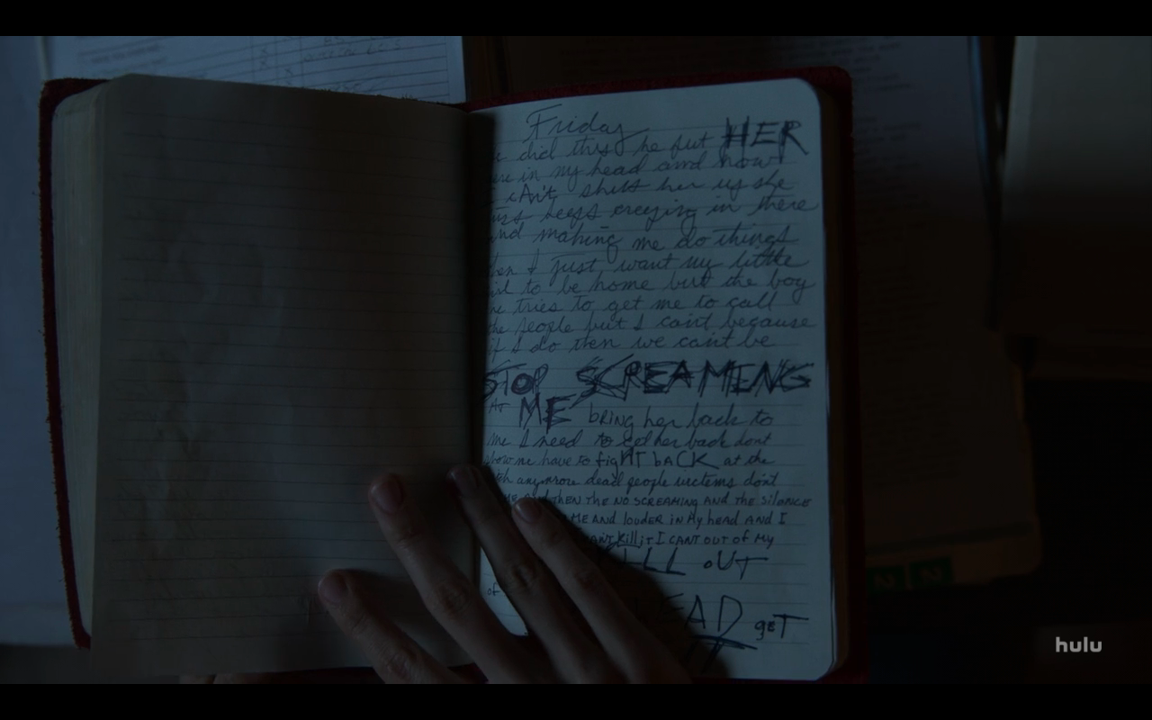 Helstrom S1Ep1 Victoria's Journal