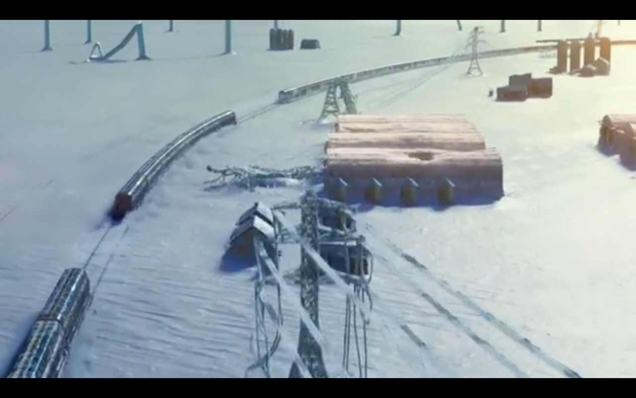 Snowpiercer S1Ep9 Train in 3 Sections