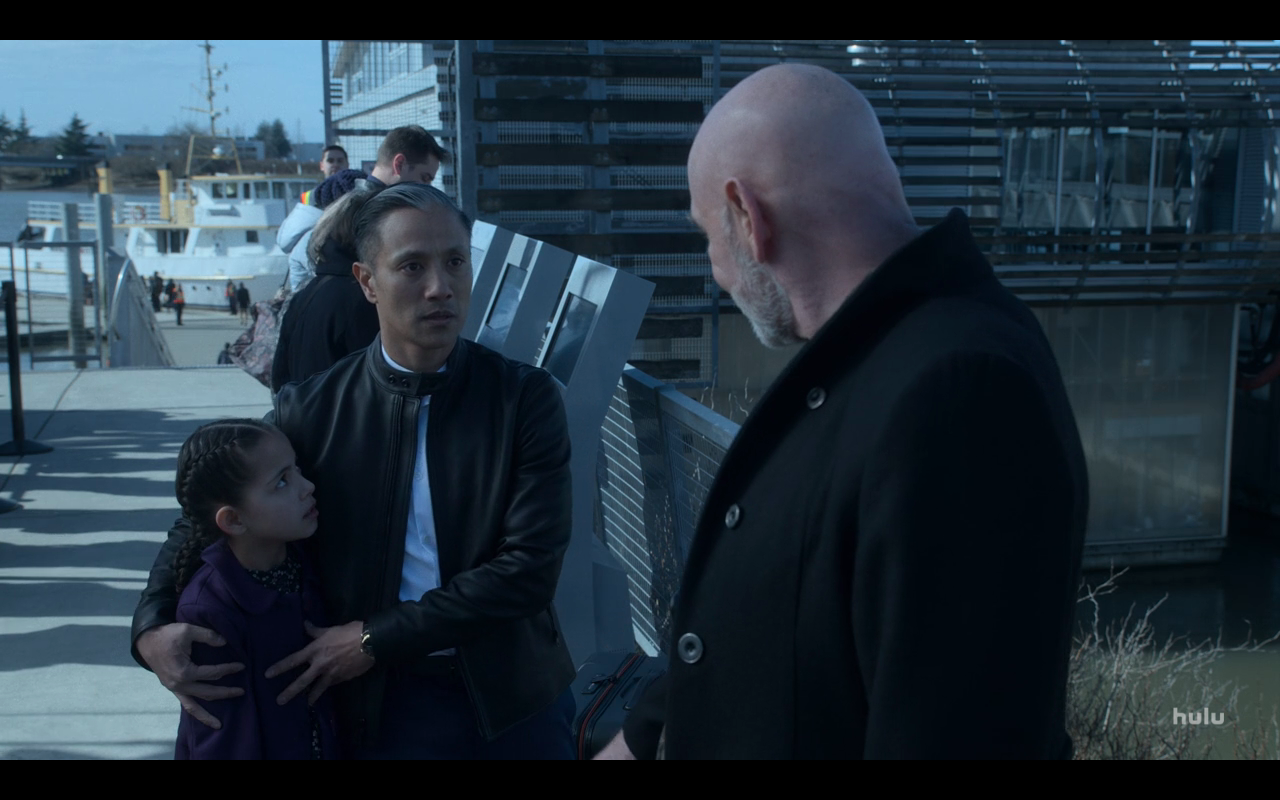 Helstrom S1Ep10 Chris Defends Lily from Papa