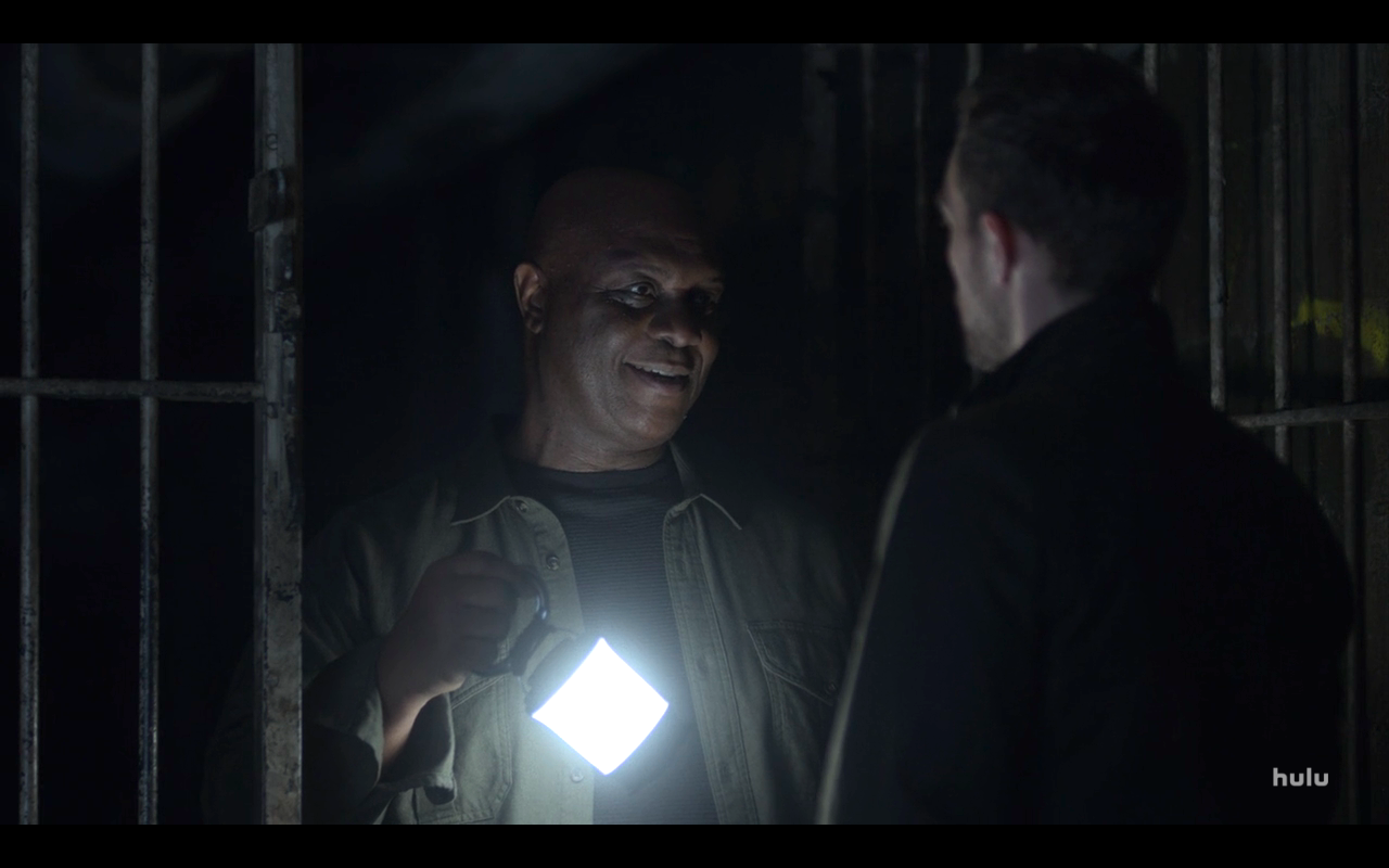 Helstrom S1Ep5 Henry & Daimon in Tunnel