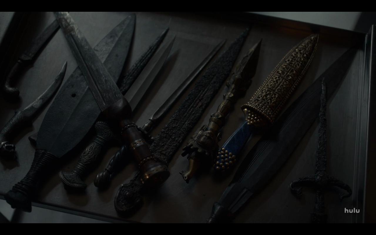 Helstrom S1Ep8 Henry's Knives