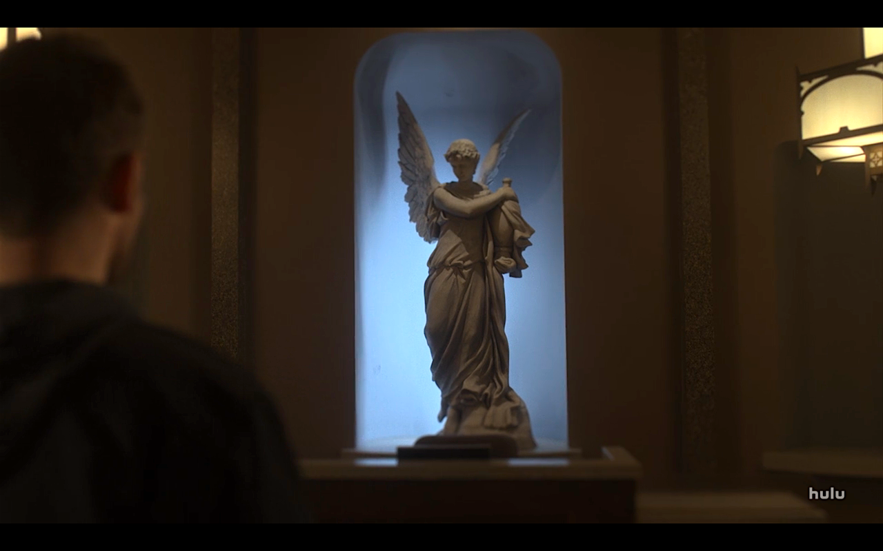 Helstrom S1Ep9 Angel Statue & Daimon at St Teresa's