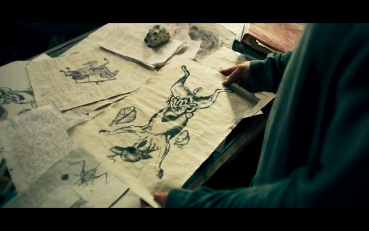 The Third Day S1Ep2 Mimir's Drawings
