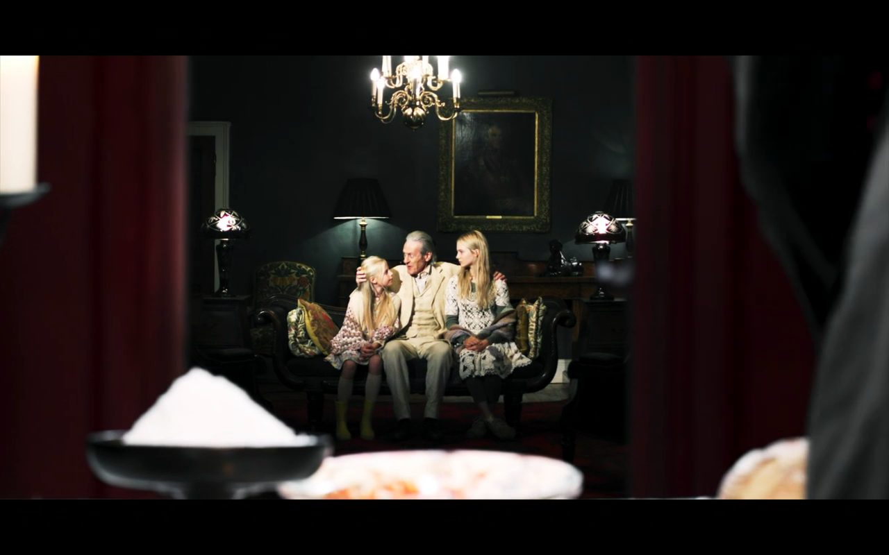 The Third Day S1Ep3 Old Father with Blonde Girls