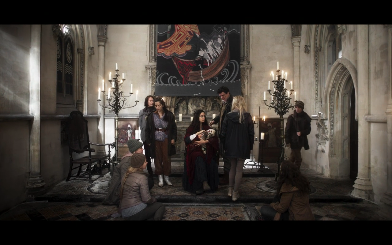 The Third Day S1Ep6 Jess Sits in the Altar Position at Church 1