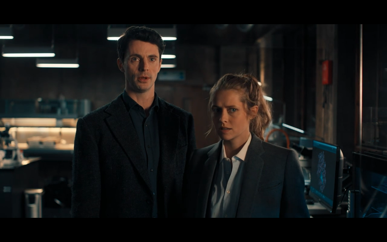 Disc of Witches S1Ep2 Matt & Diana in Lab 1
