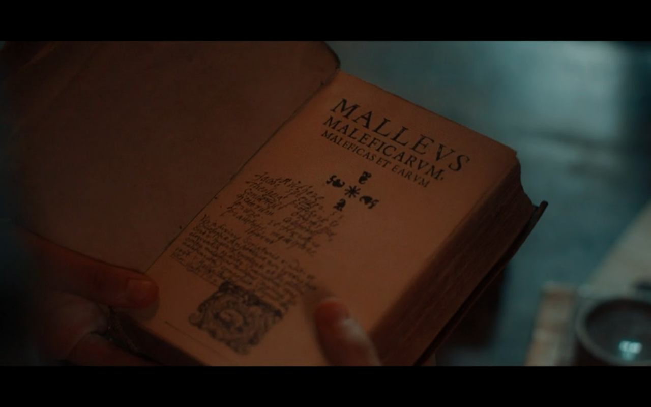 Disc of Witches S2Ep2 Malleus Maleficarum
