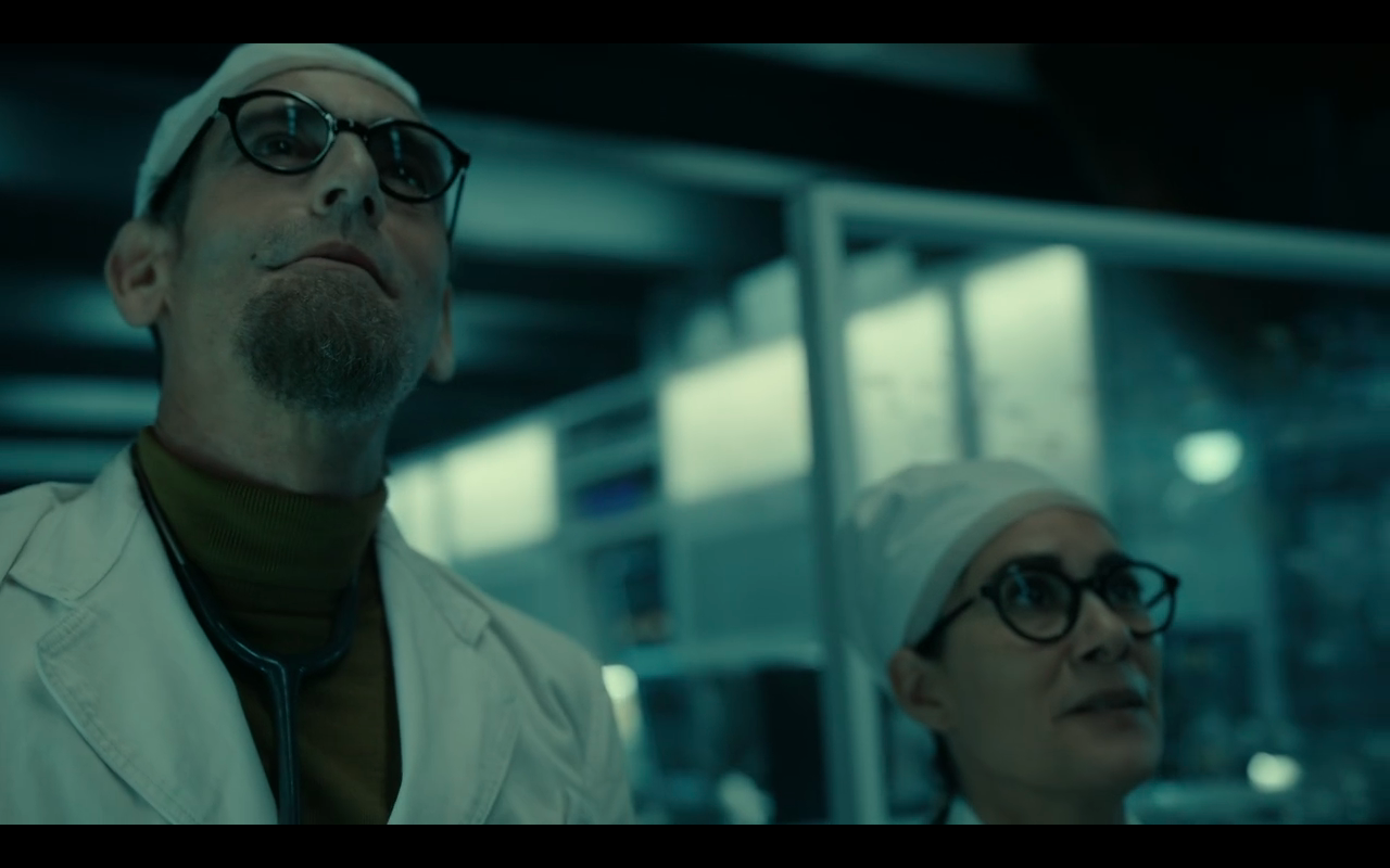 Snowpiercer S2Ep1 Doctor and Doctor Headwood