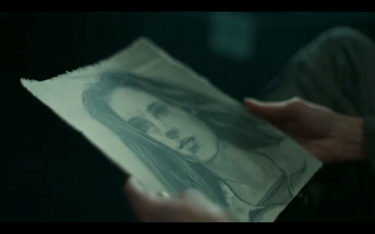 Snowpiercer S2Ep3 Alex's Drawing of Melanie