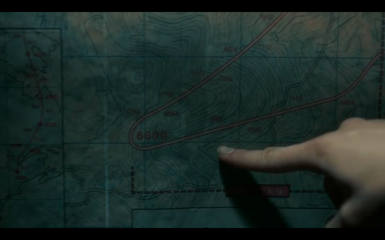 Snowpiercer S2Ep3 Map of Berthoud Curve