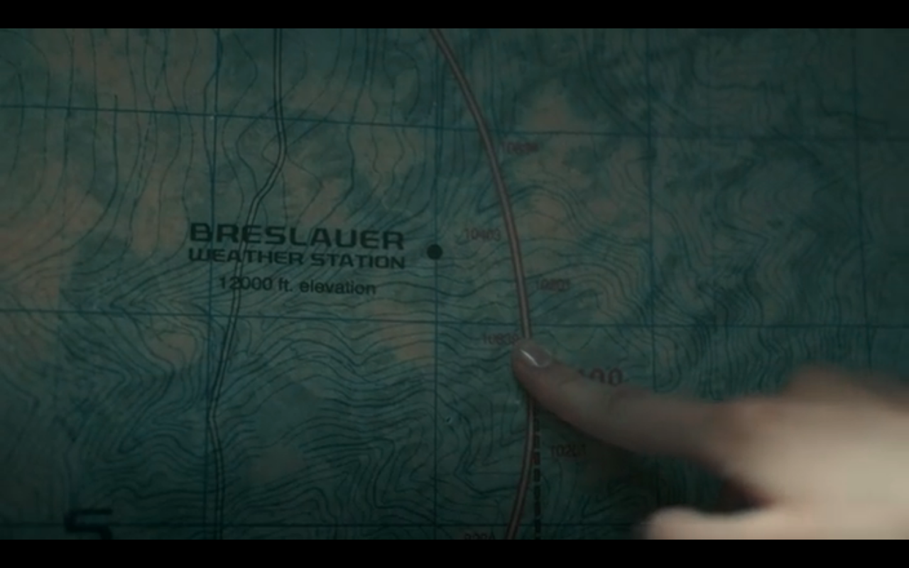 Snowpiercer S2Ep3 Map of Breslauer Weather Station