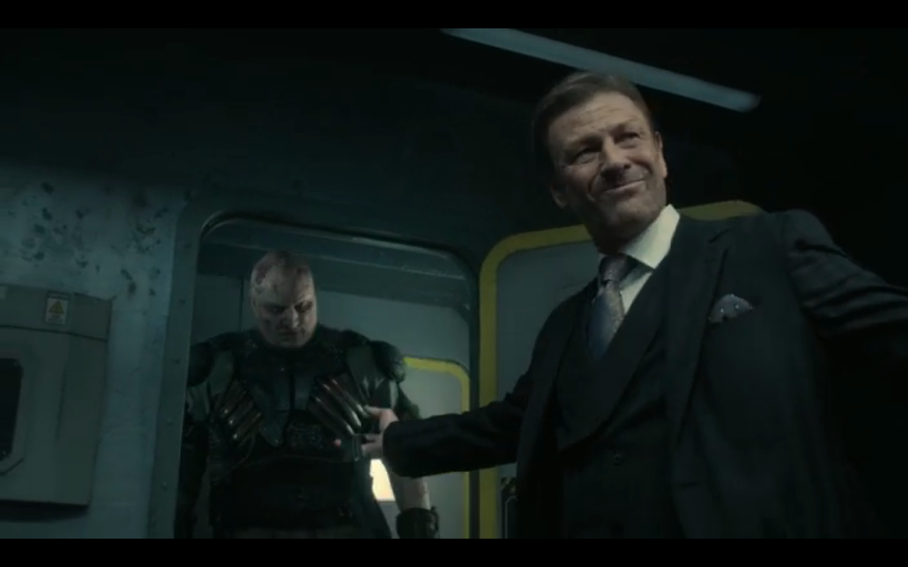 Snowpiercer S2Ep3 Wilford & Icy Bob
