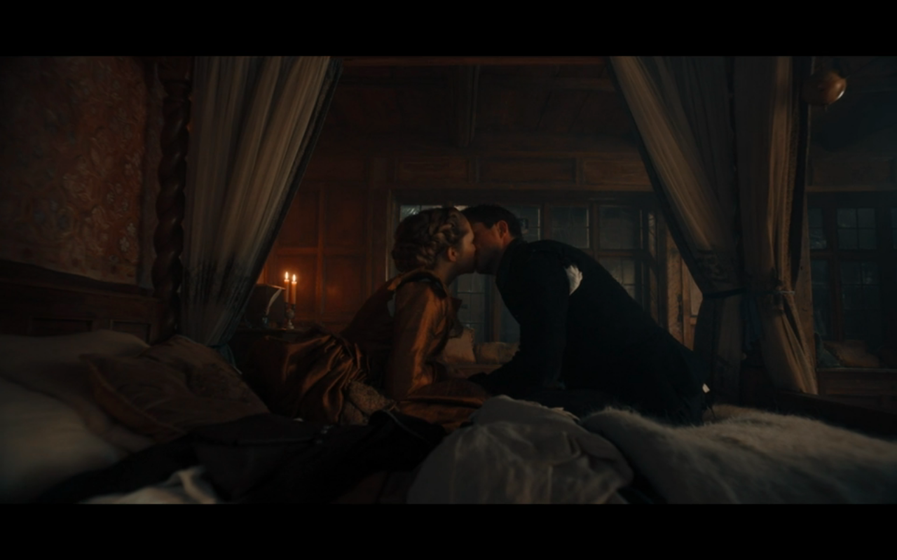 Disc of Witches S2Ep10 Matthew & Diana Kiss